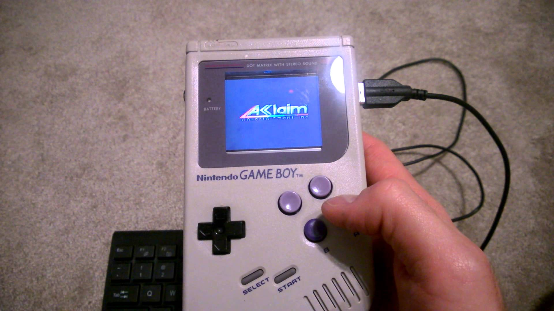 Electromaster s raspberry pi game boy retropie v