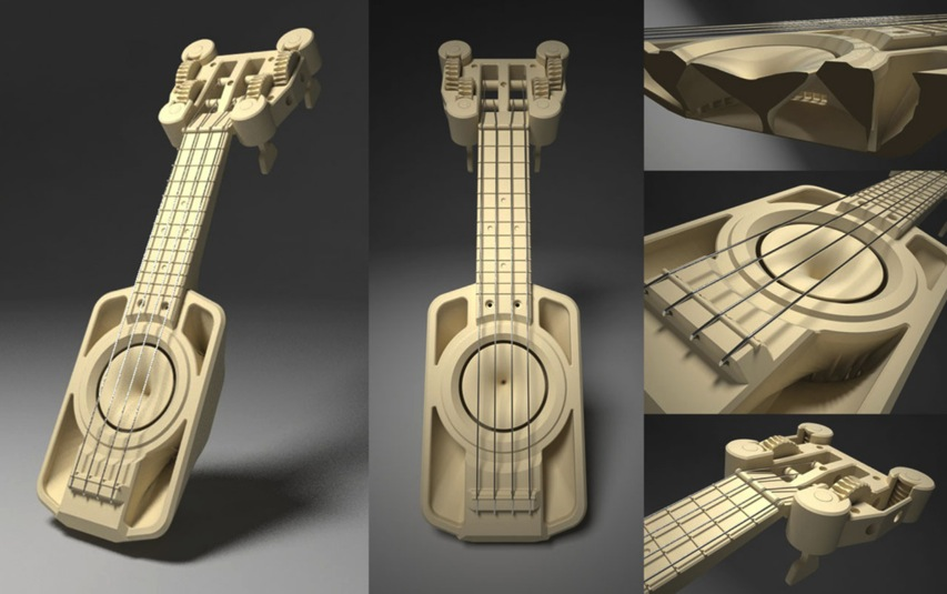 The Makerlele MK1 by ErikJDurwoodII Thingiverse