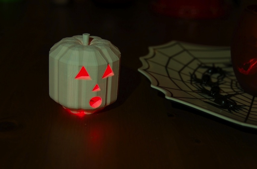 Customizable Jack O Lantern by TheNewHobbyist Thingiverse