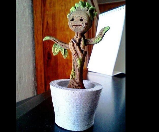 Dancing Baby Groot by LDIbarra Thingiverse