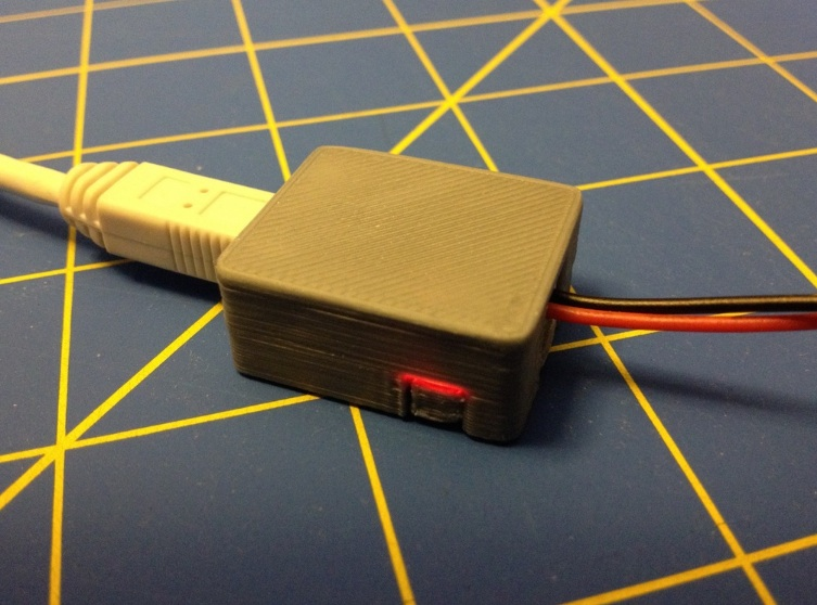 Enclosure for Mini Lipo USB Charger by wgbartley Thingiverse