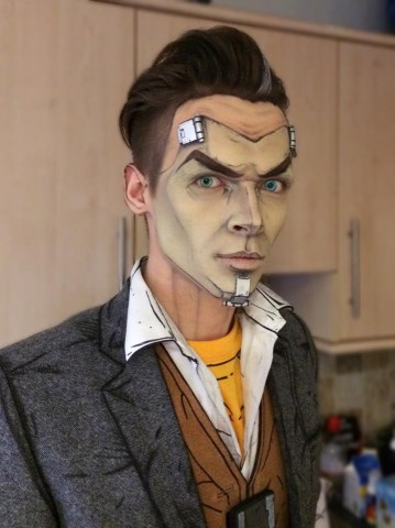 Handsome Jack makeup