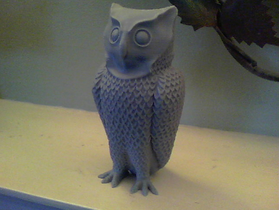 Horned Owl by cerberus333 Thingiverse