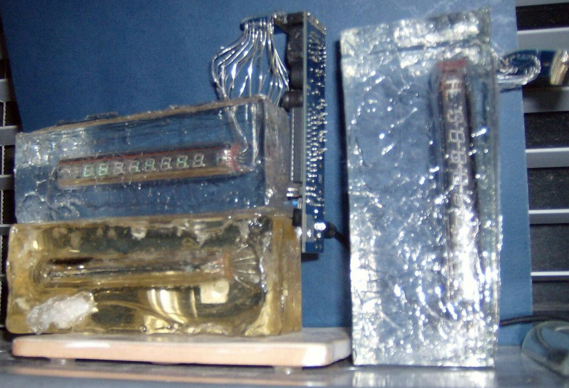 From the Forums: Ice Cube Clock ^3 – How to Create a Polyester Resin