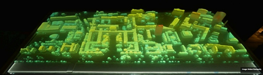 MIT Researchers 3D Printed a Scale Model of the College to Visualize Big Data Motherboard