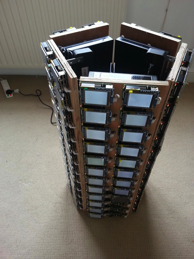 What Would You Do With A 120 Node Raspberry Pi Cluster
