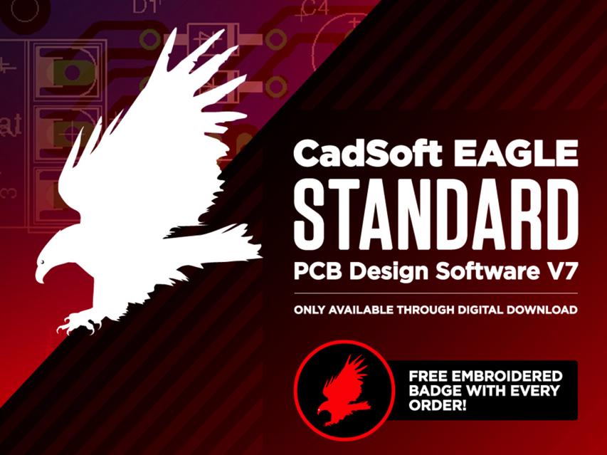 NEW PRODUCT – CadSoft EAGLE Standard PCB Design Software V7 – 3 ...