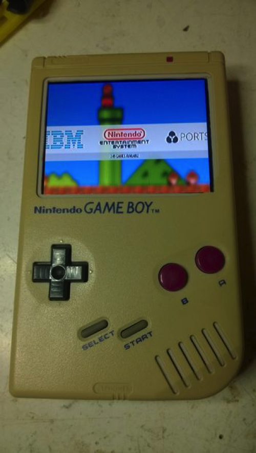 Upgrade An Old Gameboy With Raspberry Pi #piday #raspberrypi