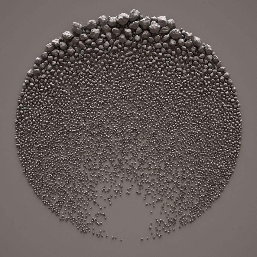 Digital artist Giuseppe Randazzo creates elaborate arrays of 3D-printed stones #ArtTuesday « Adafruit Industries u2013 Makers hackers artists designers and ... : 3d printed wall art - www.pureclipart.com