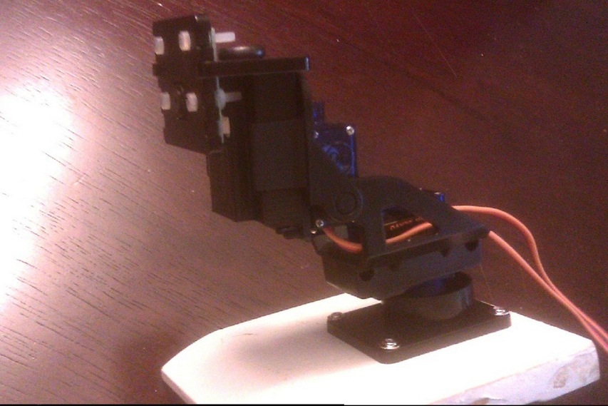 Raspberry Pi Camera Mount Pan Tilt Adapter by JennaSys Thingiverse