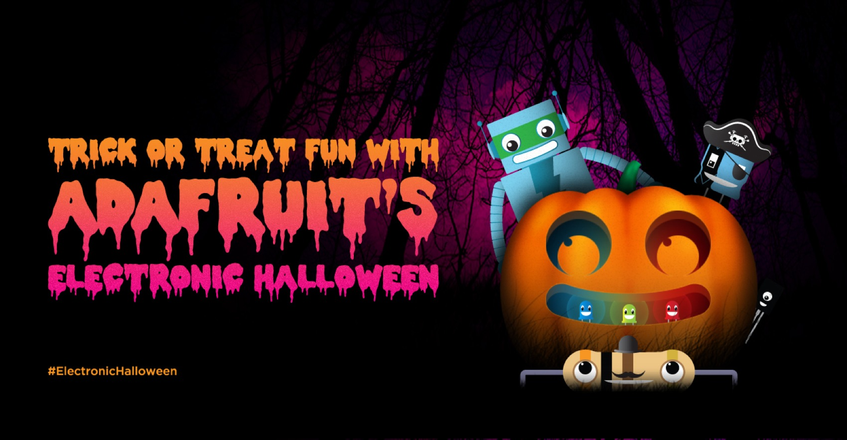 Adafruit Halloween2014 Googleplus