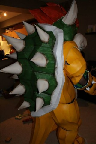 bowser costume 2