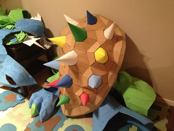 bowser costume wip 2