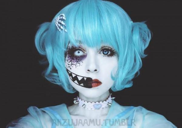 creepy cute makeup