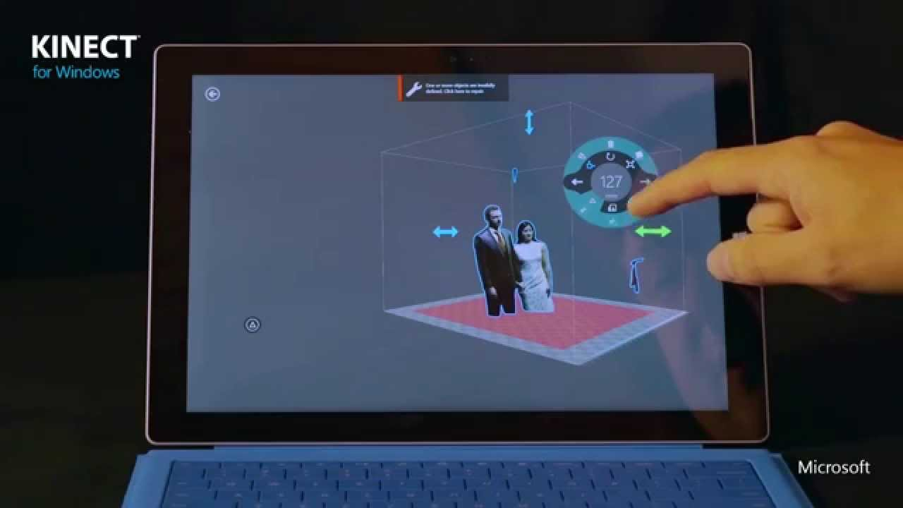 Free 3D Builder App Lauches With Kinect Integration Now In The MIcrosoft Sto