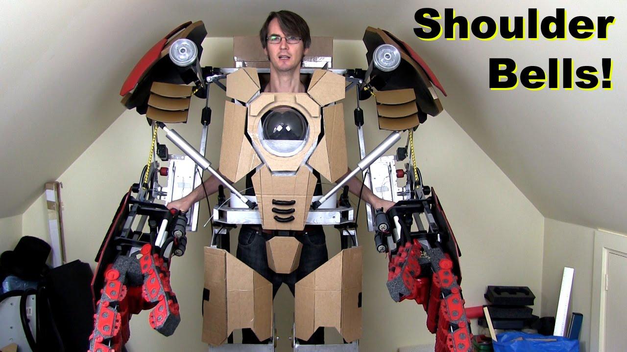 Iron Man Hulkbuster Cosplay PART 14, Shoulder Bells & Arm ... Lego Iron Man 3 Suits