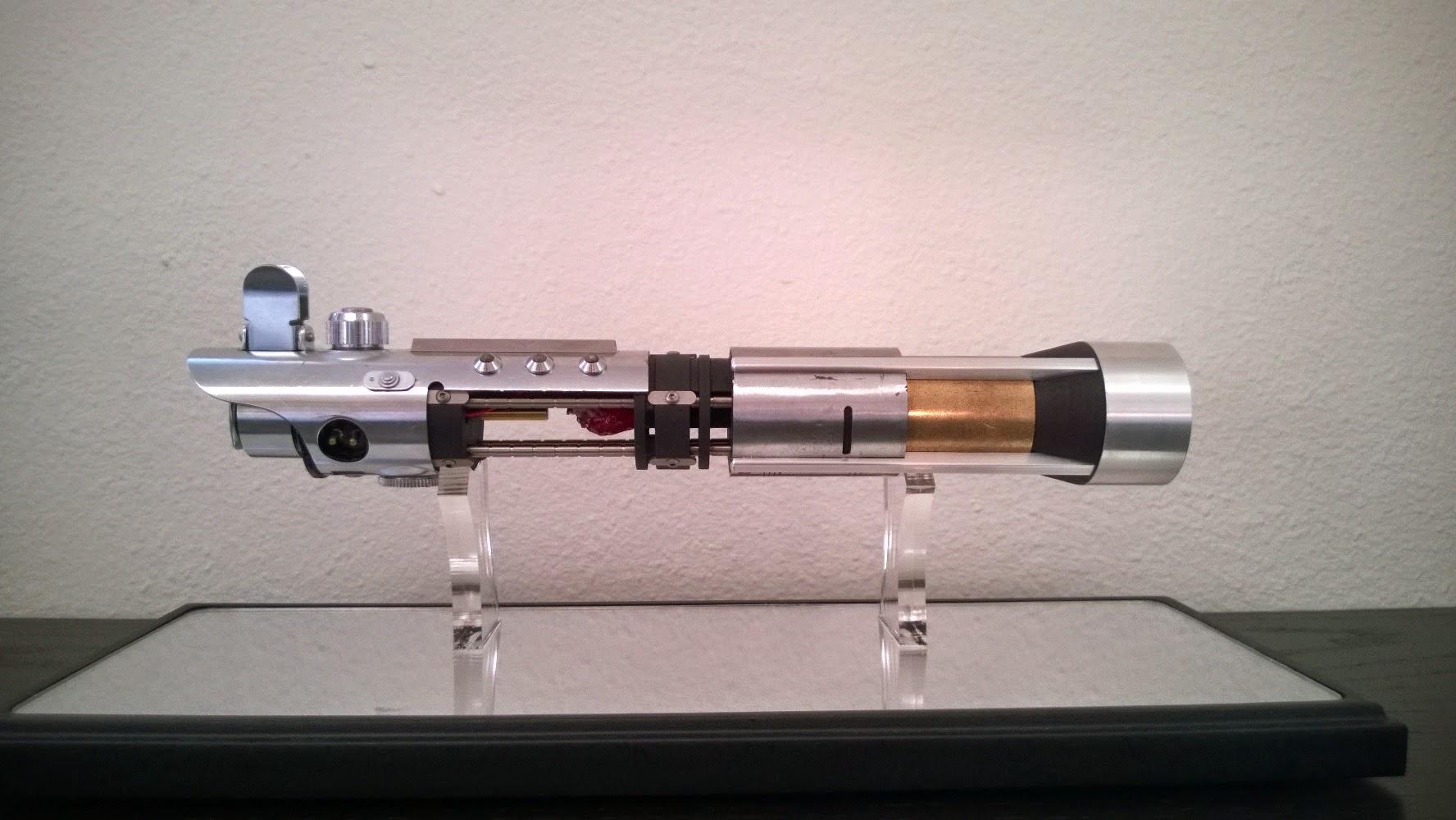 Replica Of Starkiller S Lightsaber 171 Adafruit Industries