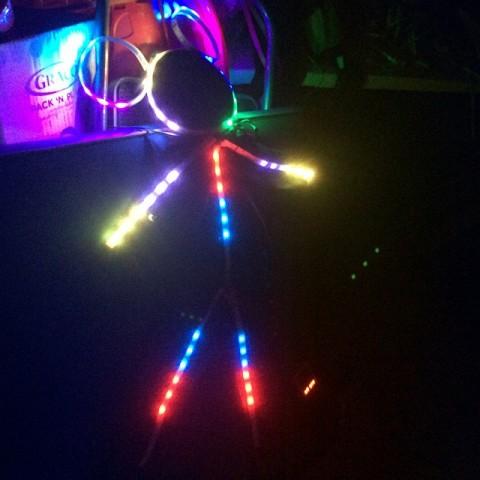 minnie mouse LED costume