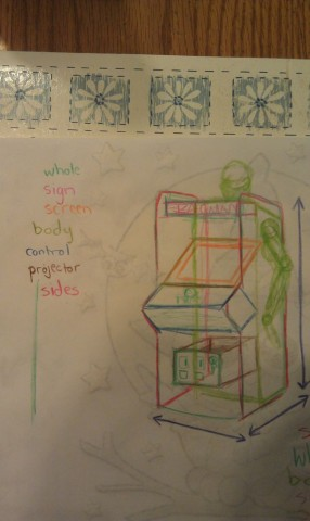 playable pac-man costume wip 1