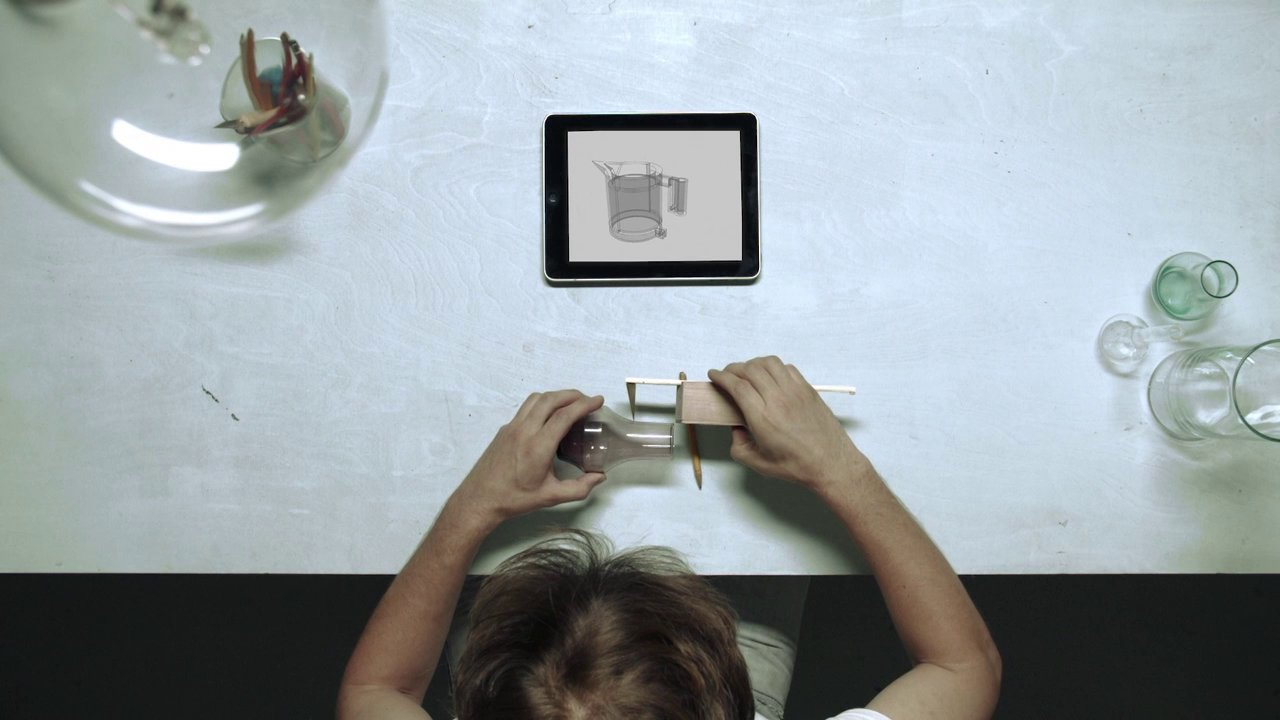 Physical Measuring Instruments : Unfold creates physical tools for digital measuring