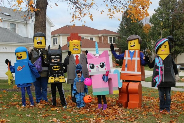 LEGO Movie family 1