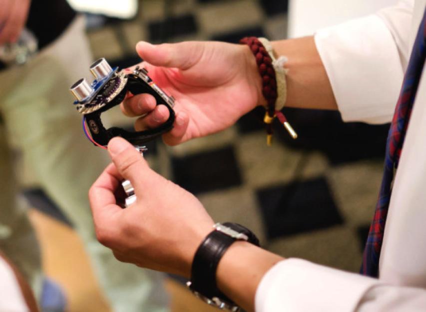 Researchers Develop $60 Sonar 'Watch' to Help Blind People Navigate