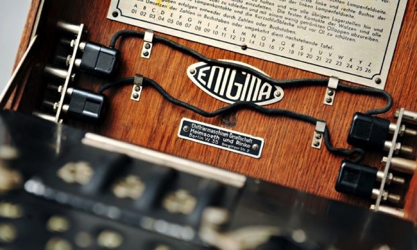 the enigma machine and how it
