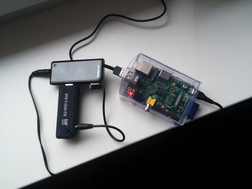 Use your Raspberry Pi as an RTL-SDR streaming server #piday