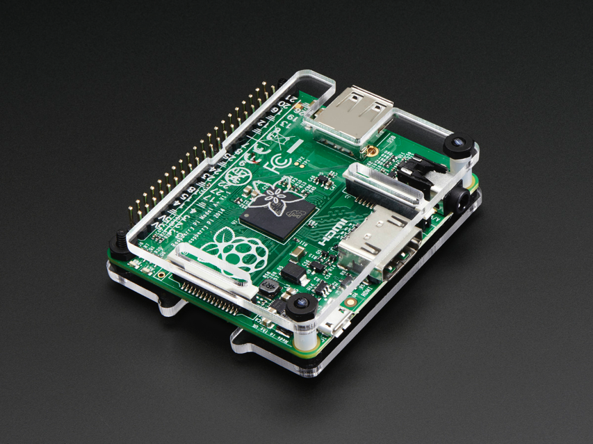NEW PRODUCT – Adafruit Pi Protector for Raspberry Pi Model A+