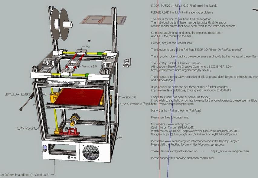 Reprap Alchemist Richrap Shares Sli3dr 3d Printer Design