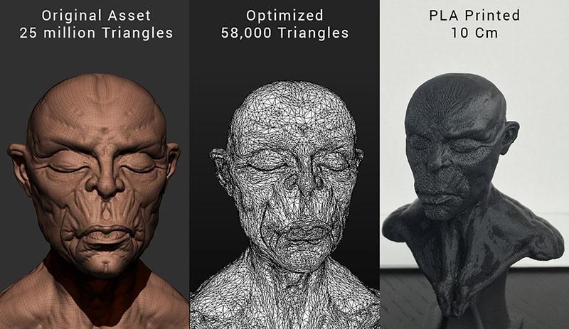 3D Design Apps – Simplygon: Automagic 3D Print Optimization #3DThursday #3DPrinting