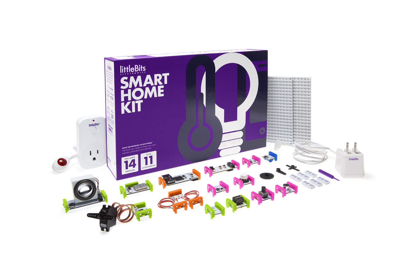 Introducing Littlebits Smart Home Kit Adafruit Industries Makers Wiring Design Control Household Appliances Like Fans And Lights With A Circuit No Need To Mess Any Electrical Nothing In Your House Is Too