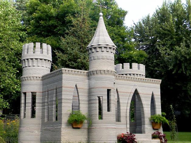 concrete castle