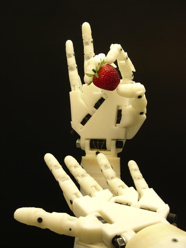 Inmoov robot arm 3d print208