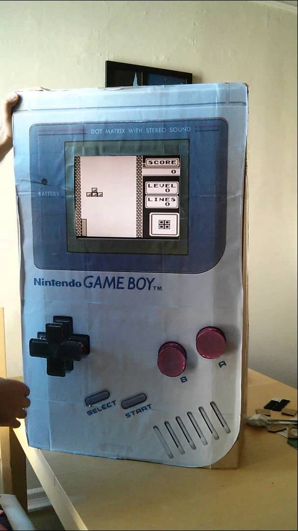 Playable gameboy costume « adafruit industries makers