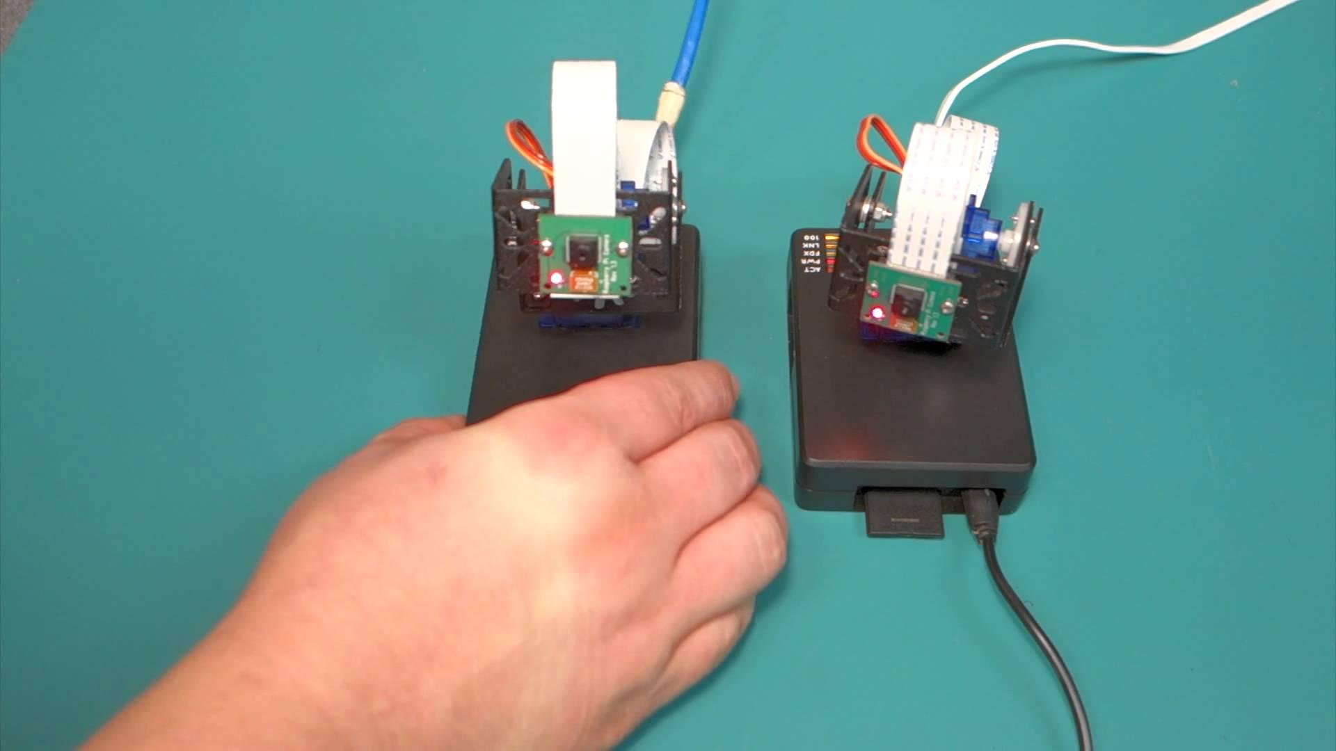 Raspberry Pi Pan And Tilt Surveillance Tutorial With Rpi