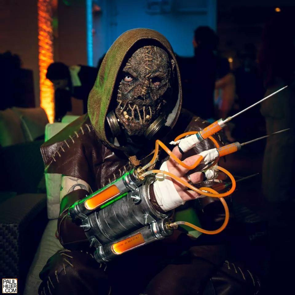 Creepy Arkham Asylum Scarecrow Costume « Adafruit