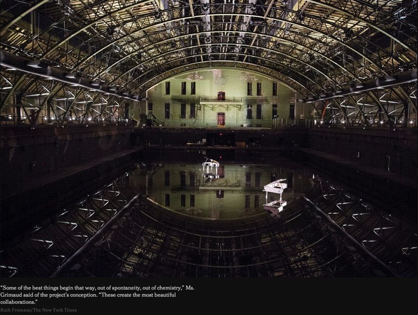 Tears Become Streams Become Fills the Park Ave Armory NYTimes com