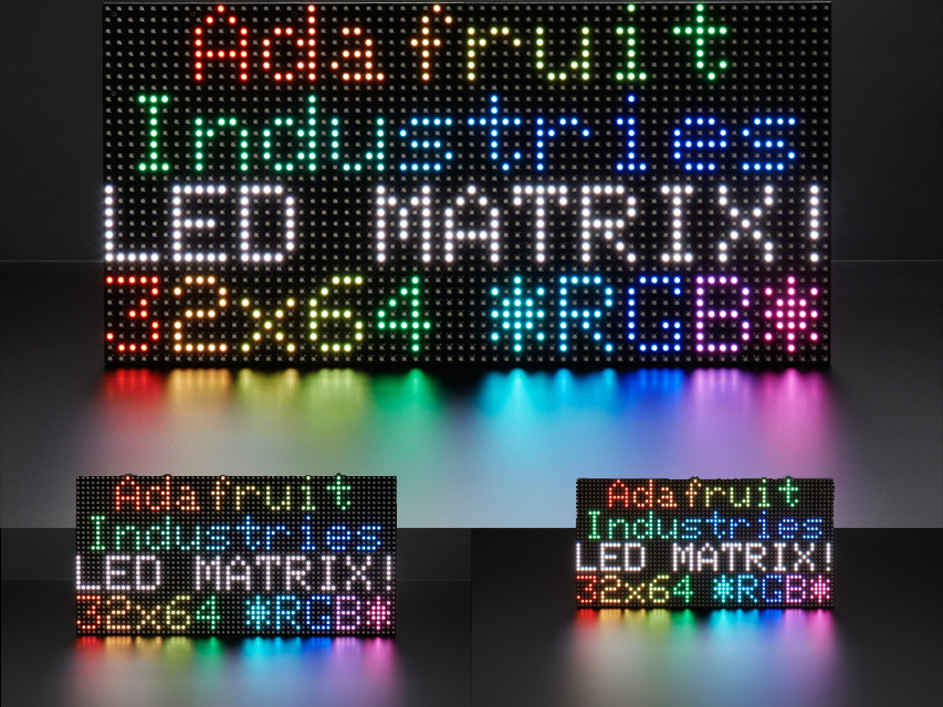 64x32 LED Matrices