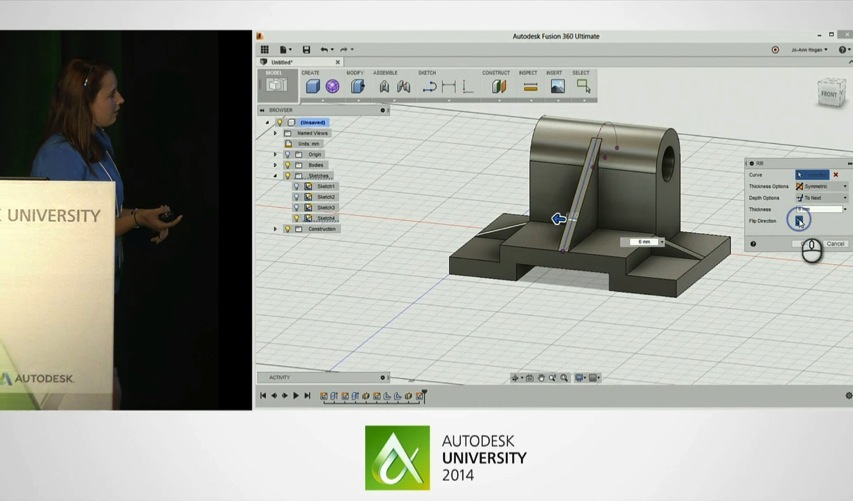 Autodesk University 2014 Getting started with Fusion 360 Watch Live Stream