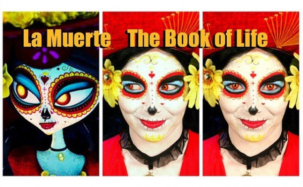Book of Life Makeup Tutorial