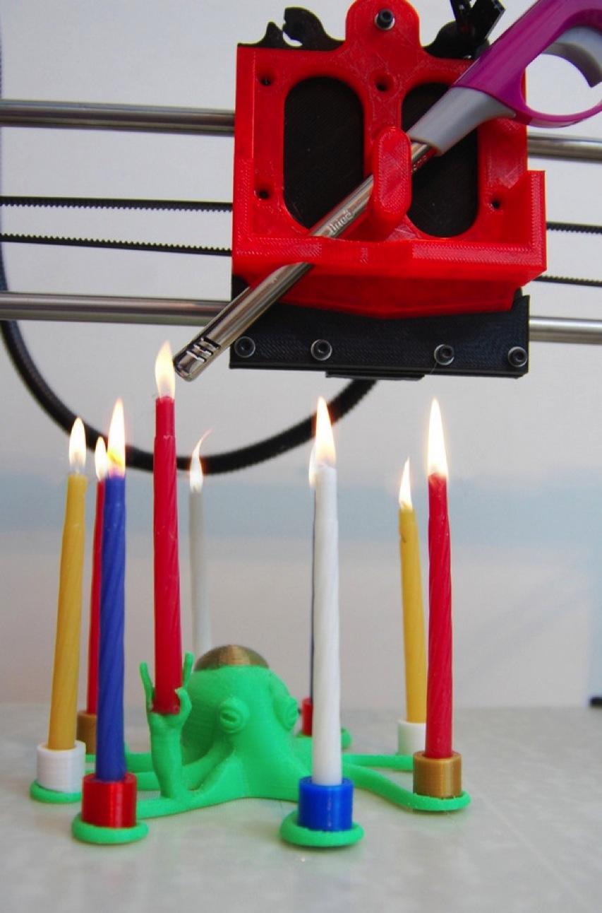 Hanukkah Rocktopus by Bcheirif Thingiverse