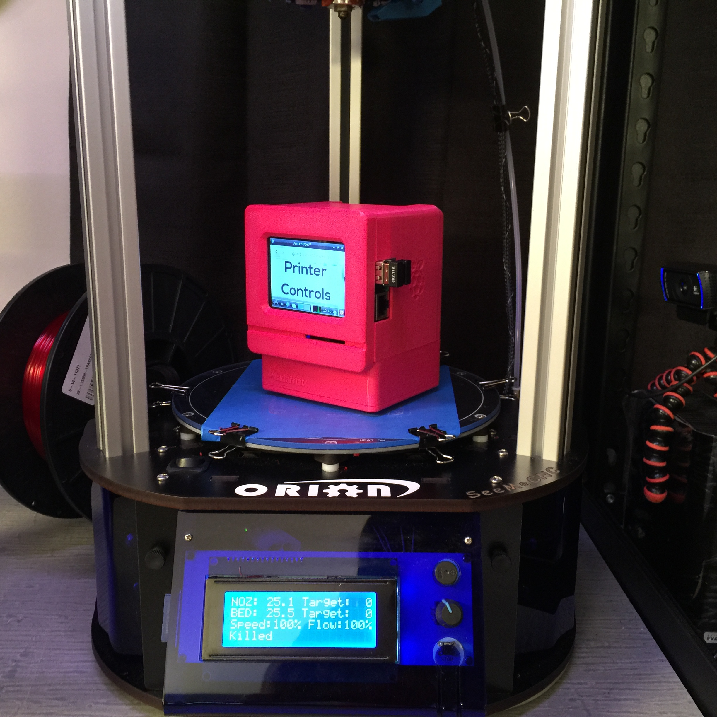 Orion Delta 3D Printer with Astroprint