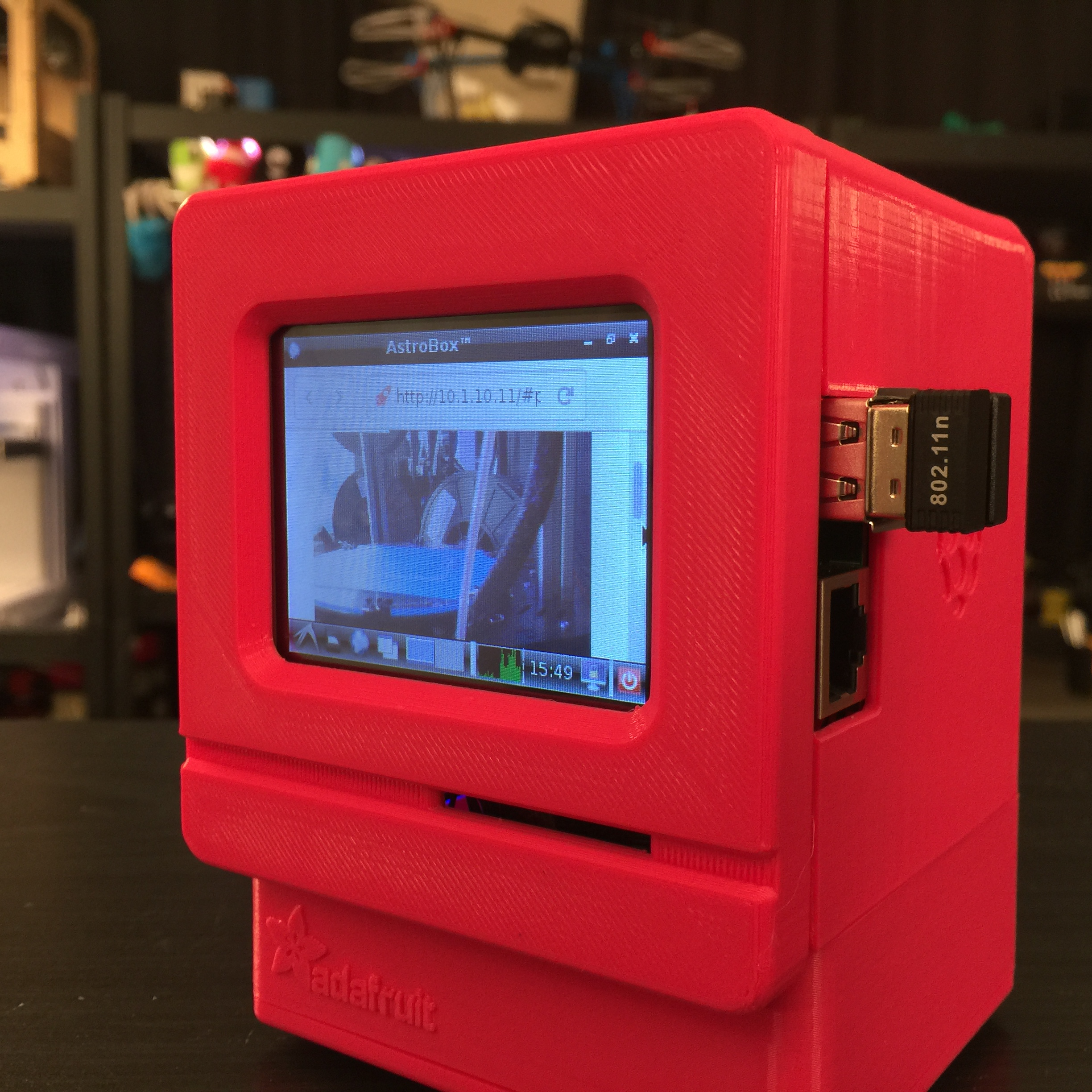 Mini Pi Astroprint Web Cam