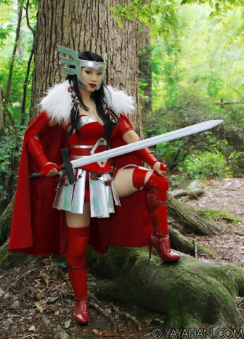 Lady Sif costume