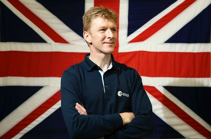 Major Tim Peake Astronaut