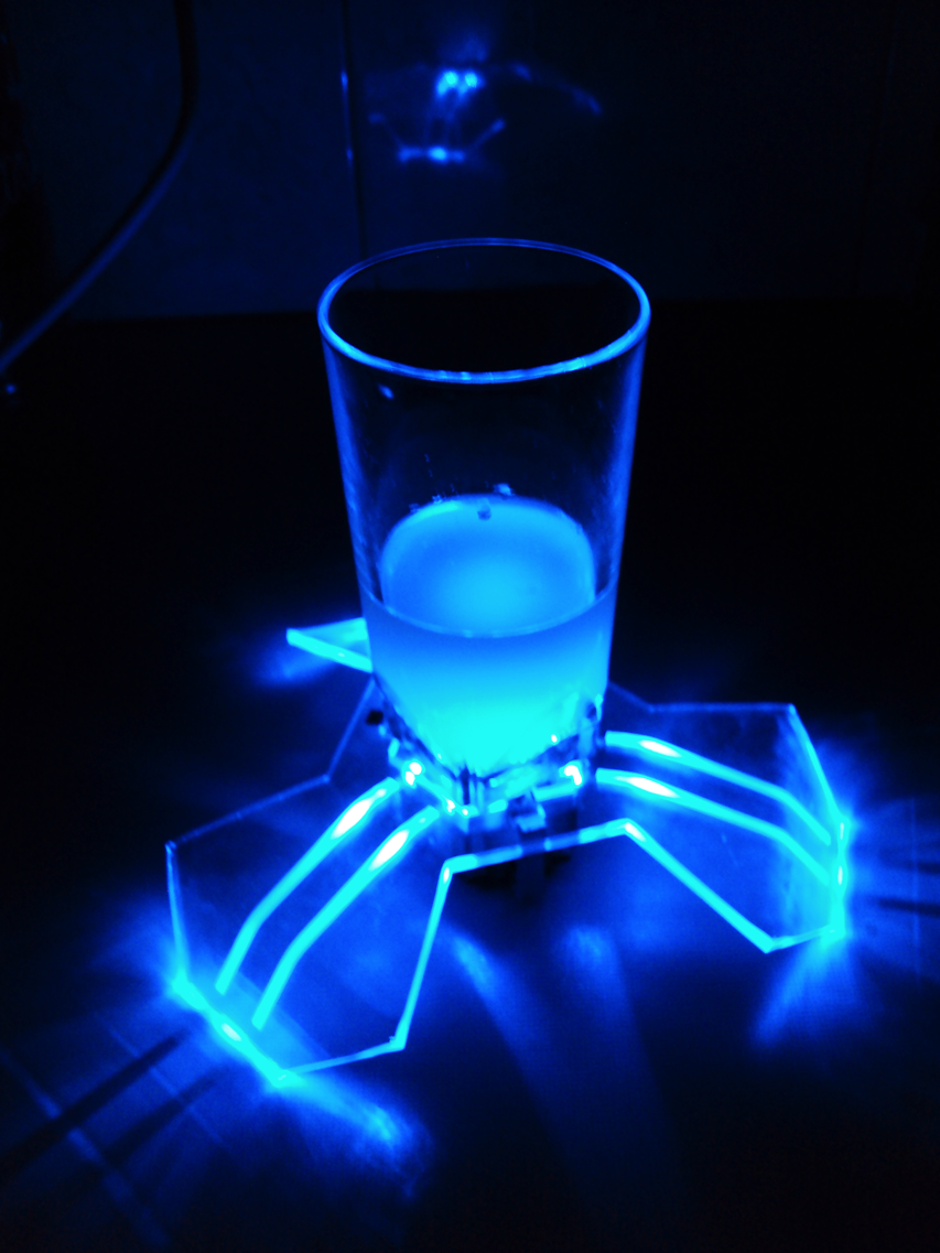 Make a light up led coaster adafruit industries makers hackers artists designers and - Lighted coaster ...