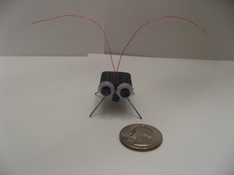 Make A Solar Cockroach Virbobot Solarpower 171 Adafruit
