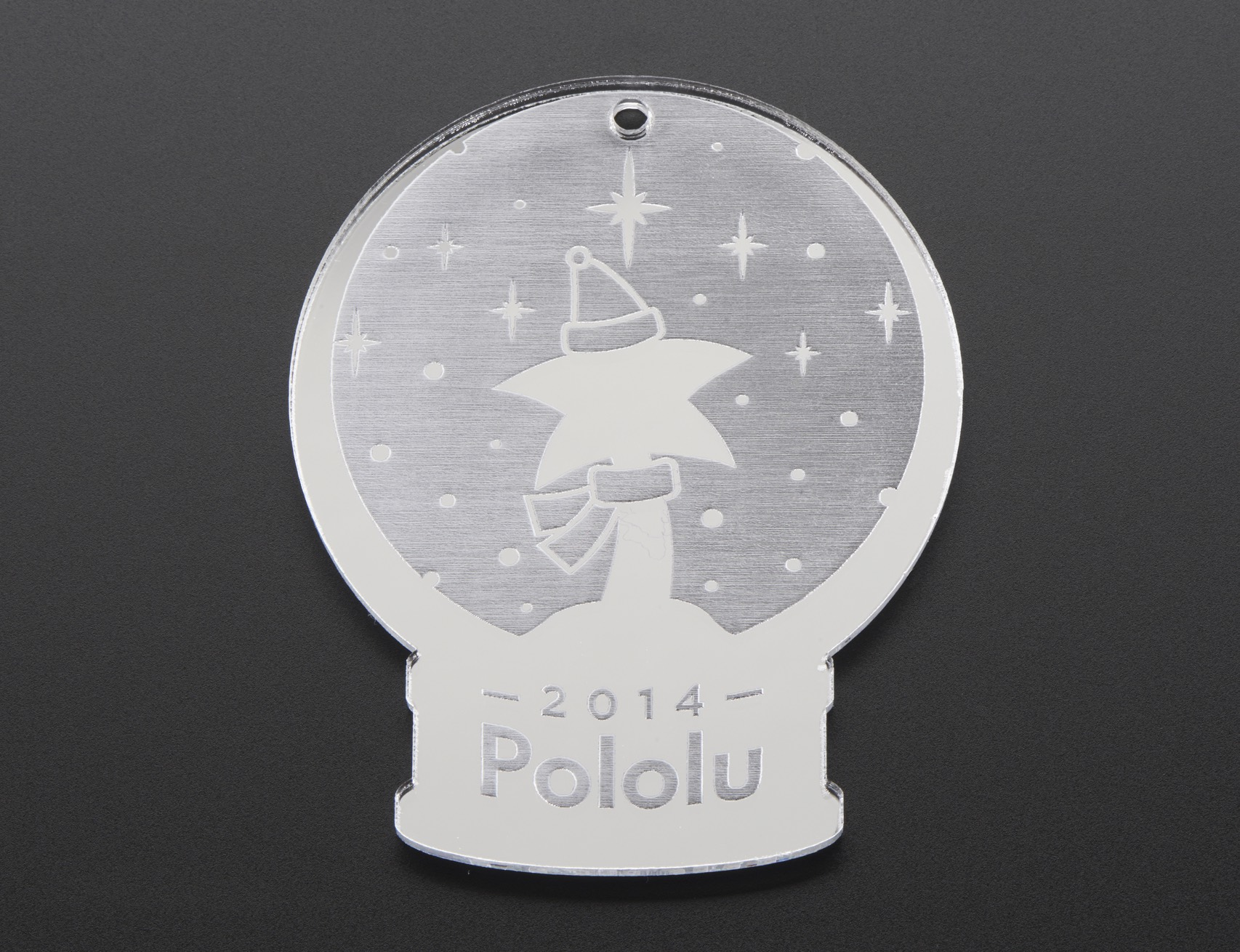 Pololu Christmas Ornament Top Single Orig