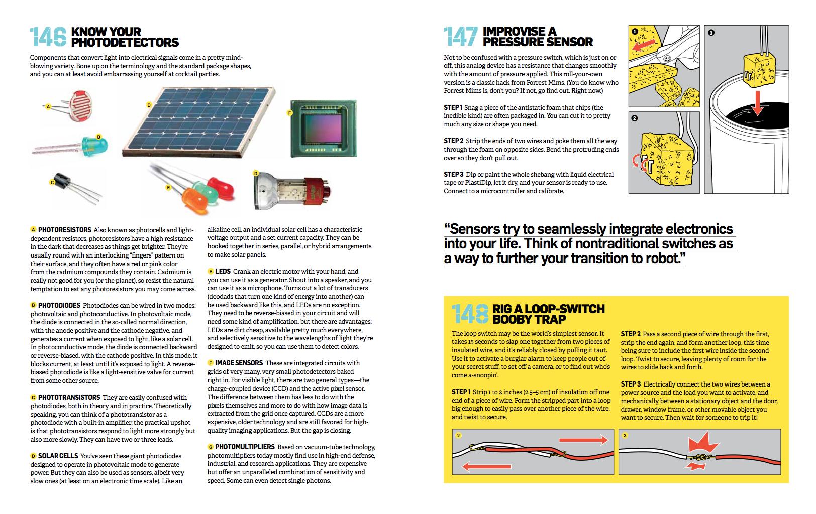 Sensors By Hackett In The Big Book Of Maker Skills Adafruit Wire Loop Alarm Industries Makers Hackers Artists Designers And Engineers